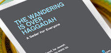 The Wandering is Over Haggadah by Jewish Boston