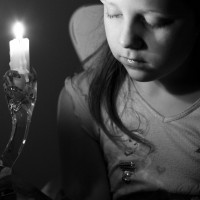 A Prayer for Candle-lighting by Chaya Kaplan-Lester