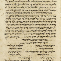 סדר תפילות | The Seder Tefillot of Rabbi Moshe ben Maimon (c. 1180 CE)