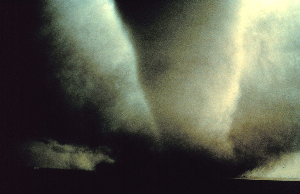 Project Vortex. The Dimmitt Tornado. Photographer: Harald Richter, Credit: NOAA Photo Library, NOAA Central Library; OAR/ERL/National Severe Storms Laboratory (NSSL), Public Domain.
