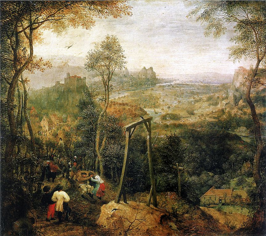 Die Elster auf dem Galgen (The Magpie on the Gallows, 1568) by Pieter Brueghel the Elder