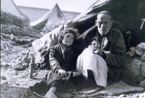 Palestinian Arab Refugees - Palestine 1948 (source collection: hanini.org, license CC-BY)