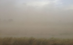 """Dust storm (haboob) on west side of Twin Falls, Idaho on July 4, 2013"" (credit: Famartin, license: CC-BY-SA)"