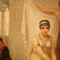 """Queen Esther by Edwin Long  (1878) (cropped from original)"