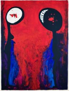 """Sleepless (Via Dolorosa I),"" by Claudia Cojocaru"