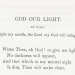 God Our Light by Rosa Emma Salaman (1845)