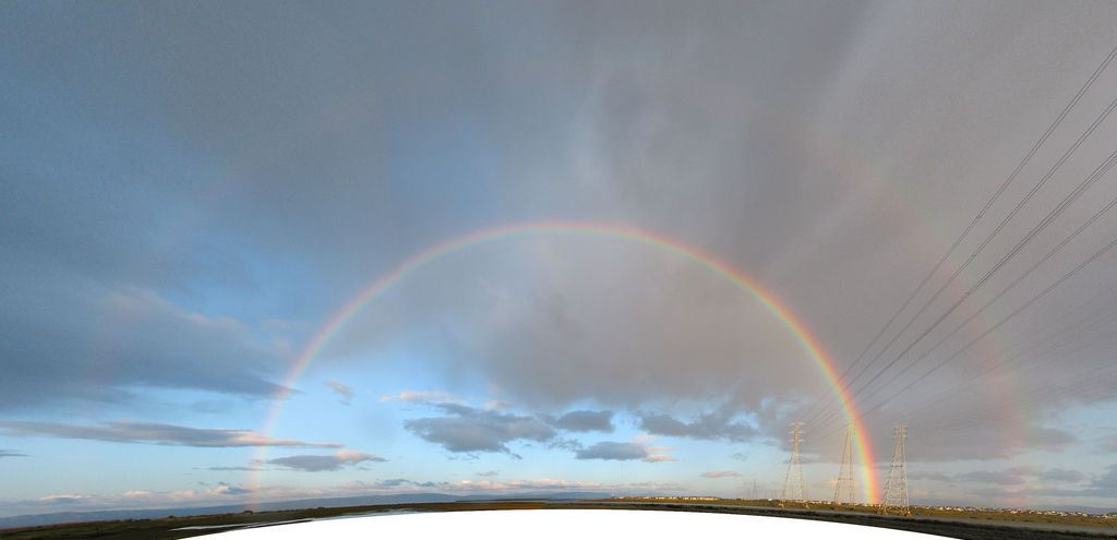 """Foster City Double Rainbow"" by Peter Kaminski (License: CC-BY 2.0). Cropped by Aharon Varady."