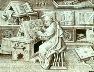 a scribe