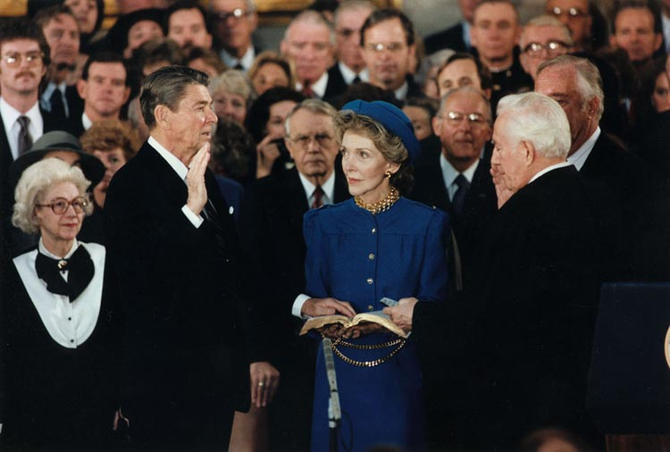 Inauguration Day Prayer for President Ronald Reagan, by Rabbi Alfred Gottschalk (1985)