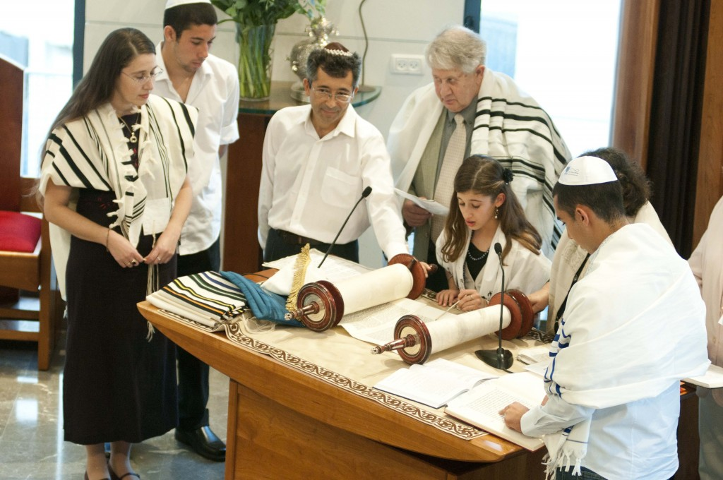 Bat Mitzvah with Rabbi Alona Lisista (credit: Alona Lisista, license: CC BY-SA)
