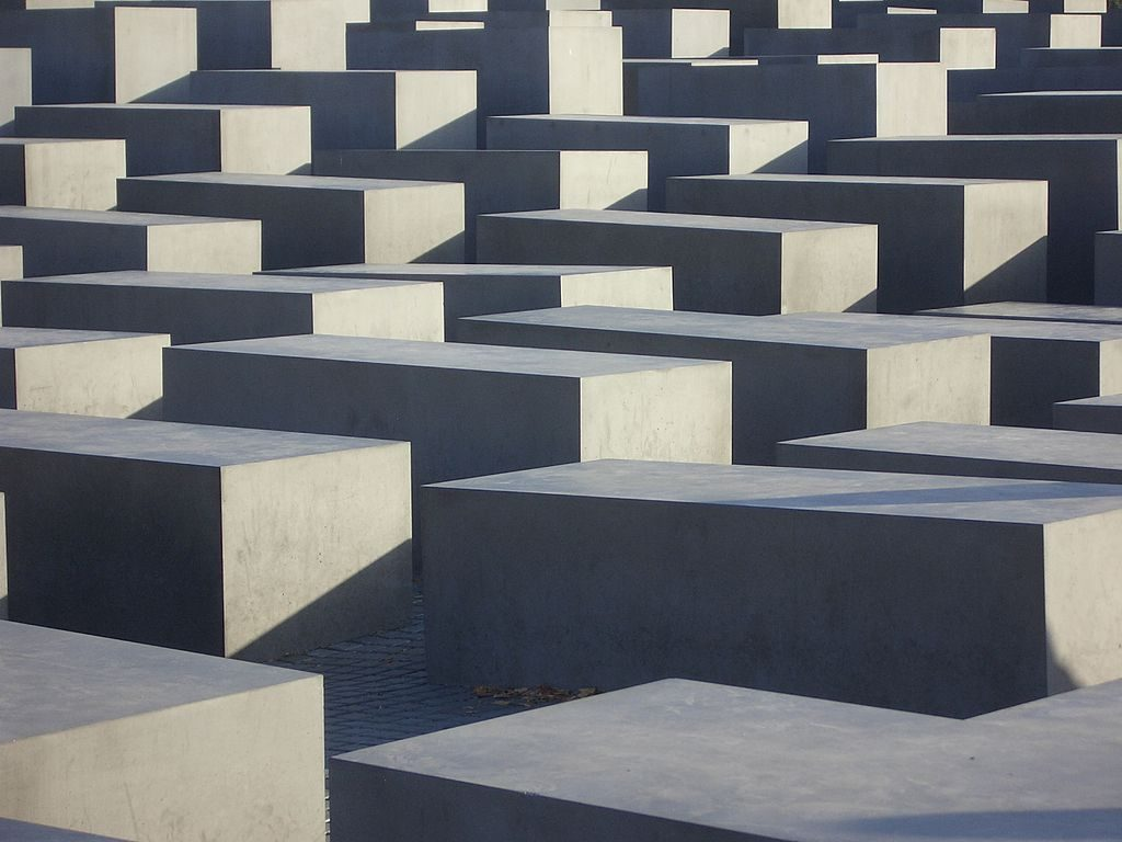 Holocaust memorial in Berlin designed by Peter Eisenman. (photo credit: Pim Zeekoers, license: CC BY-SA)
