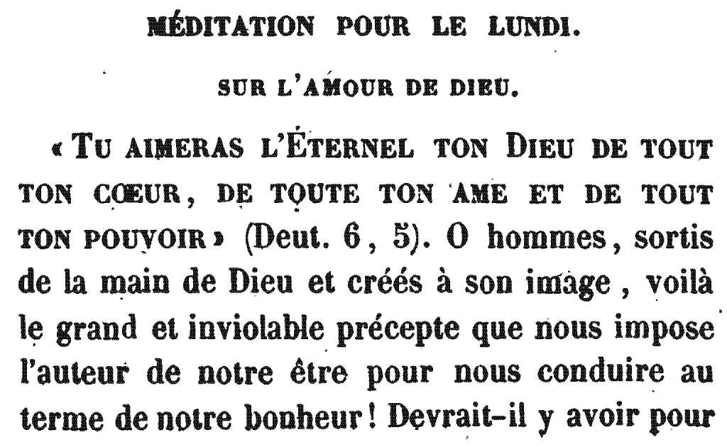 Méditation Pour le Lundi | Meditation for Monday (the Second Day), by Rabbi Arnaud Aron and Jonas Ennery (1852)