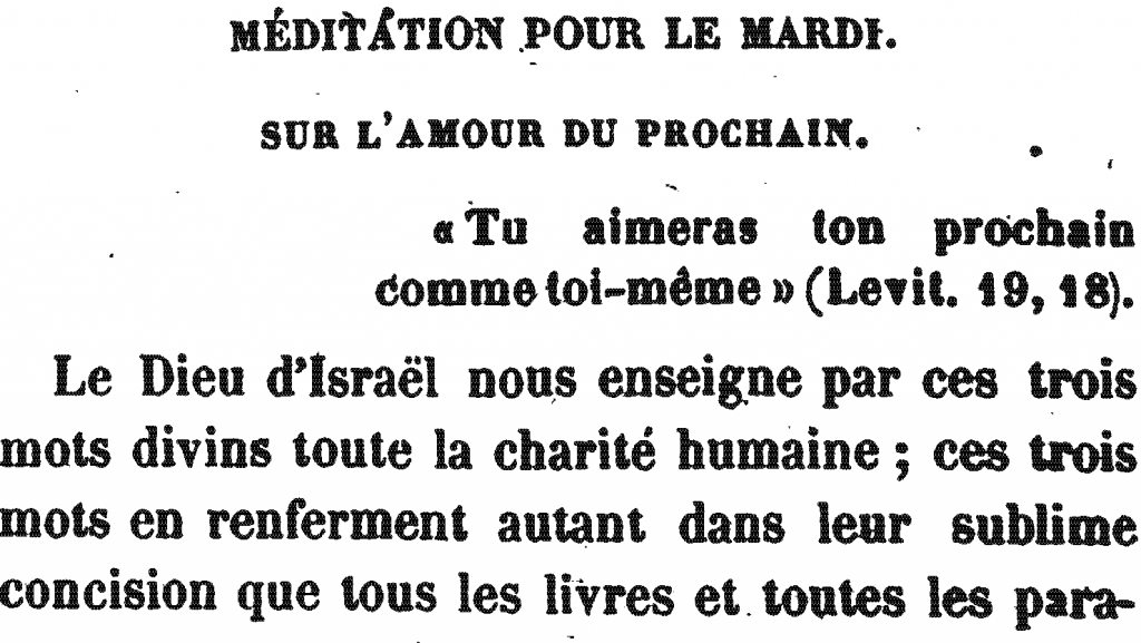 Méditation Pour le Mardi | Meditation for Tuesday (the Third Day), by Rabbi Arnaud Aron and Jonas Ennery (1852)