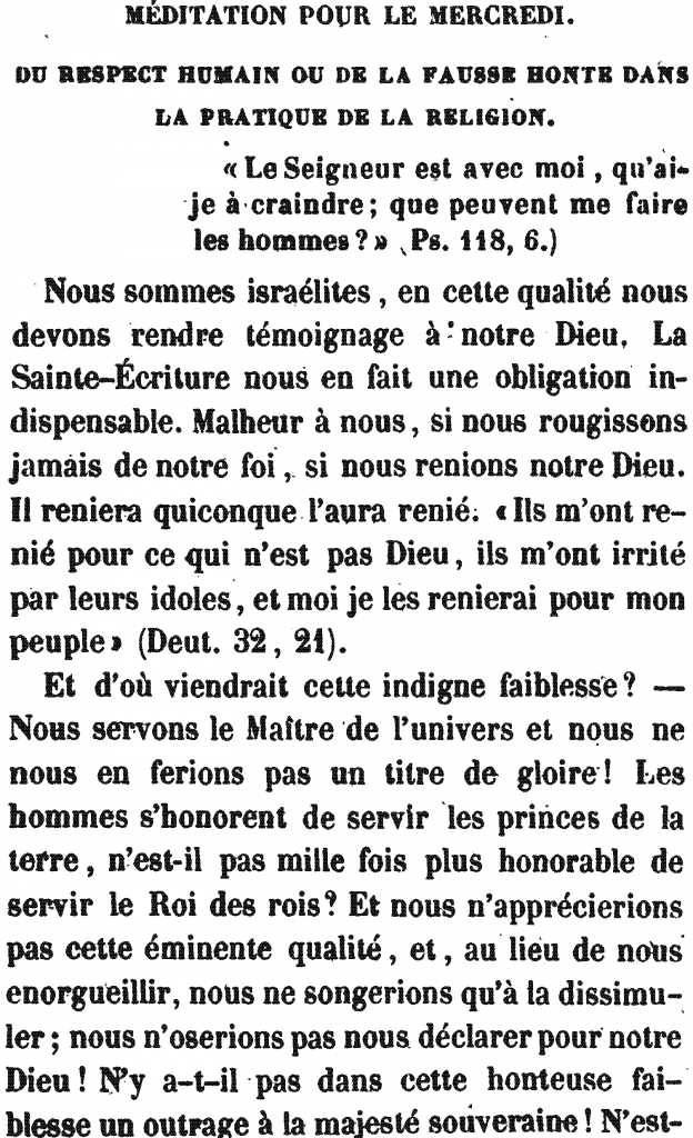 Méditation Pour le Mercedi | Meditation for Wednesday (the Fourth Day), by Rabbi Arnaud Aron & Jonas Ennery (1852)