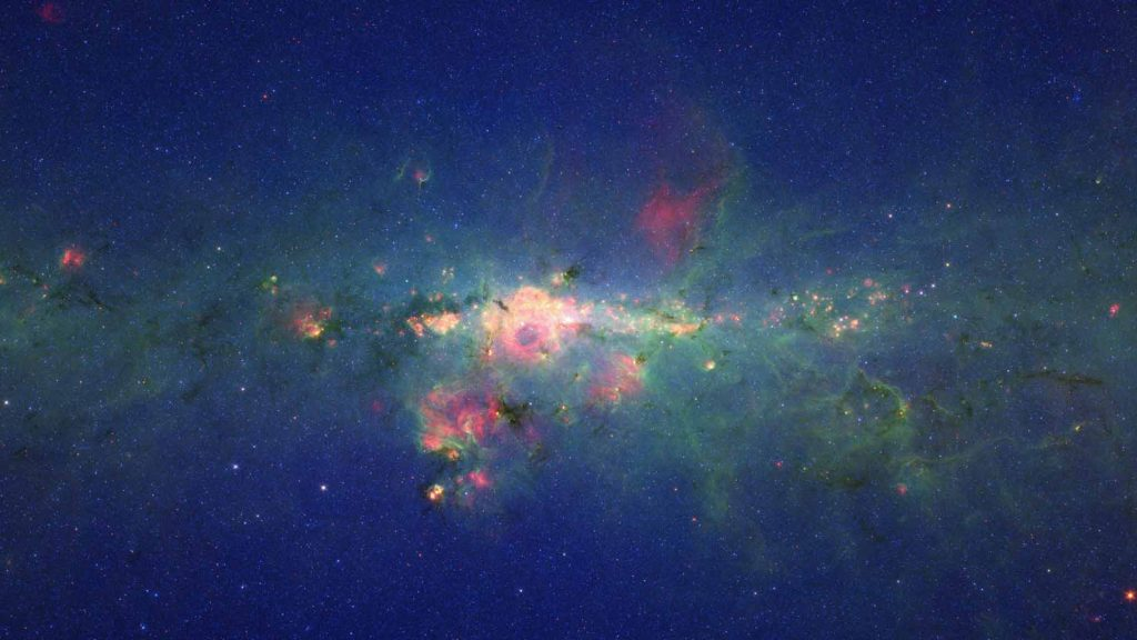 """Stars Gather in 'Downtown' Milky Way"" (credit: NASA/JPL, license: PD)"