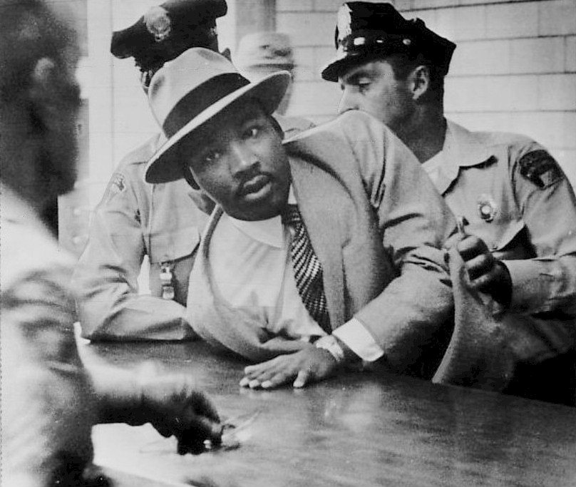 Martin Luther King Jr. Montgomery arrest 1958