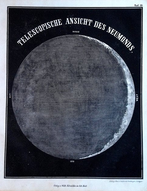 [Gebet] Am Neumonde | Prayer for the Day of New Moon, by Fanny Schmiedl-Neuda (1855)