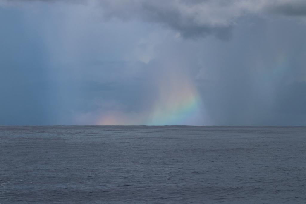 Hawaiian Rain Squall. (NOAA Pacific Island Fisheries Science Center photo gallery, credit: Mark Cotter)