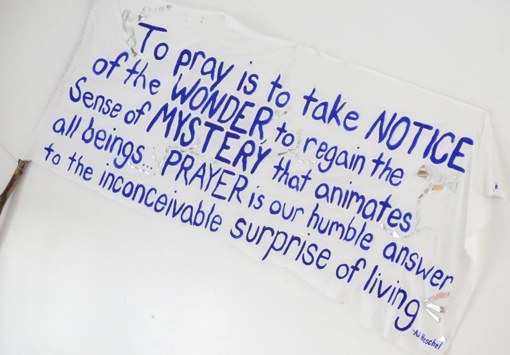 To pray is to take notice of the wonder, to regain the sense of the mystery that animates all beings, the divine margin in all attainments. Prayer is our humble answer to the inconceivable surprise of living. It is all we can offer in return for the mystery by which we live. Who is worthy to be present at the constant unfolding of time? Amid the meditation of mountains, the humility of flowers—wiser than all alphabets—clouds that die constantly for the sake of beauty, we are hating, hunting, hurting. Suddenly we feel ashamed of our clashes and complaints in the face of the tacit greatness in nature. It is so embarrassing to live! How strange we are in the world, and how presumptuous our doings! Only one response can maintain us: gratefulness for witnessing the wonder, for the gift of our unearned right to serve, to adore, and to fulfill. It is gratefulness which makes the soul great.