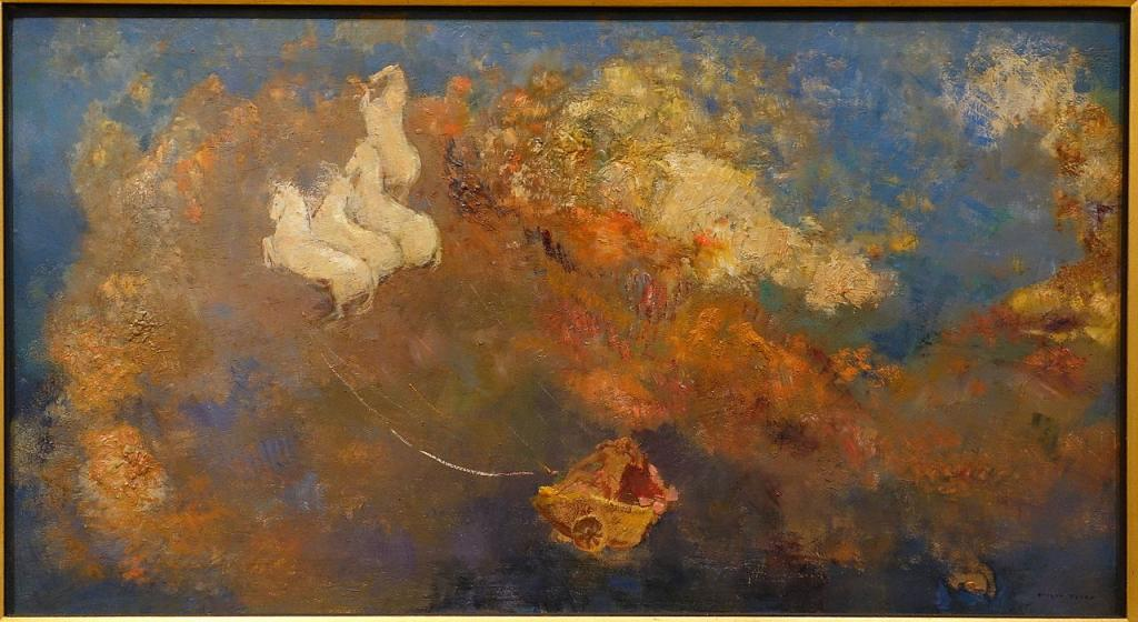 Apollo's Chariot by Odilon Redon, c. 1908