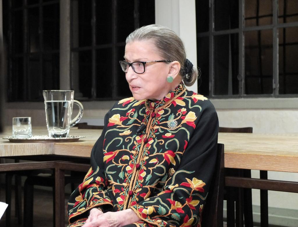 Justice Ruth Bader Ginsburg, 11 September 2014 (credit: European University Institute, license: CC BY-SA)