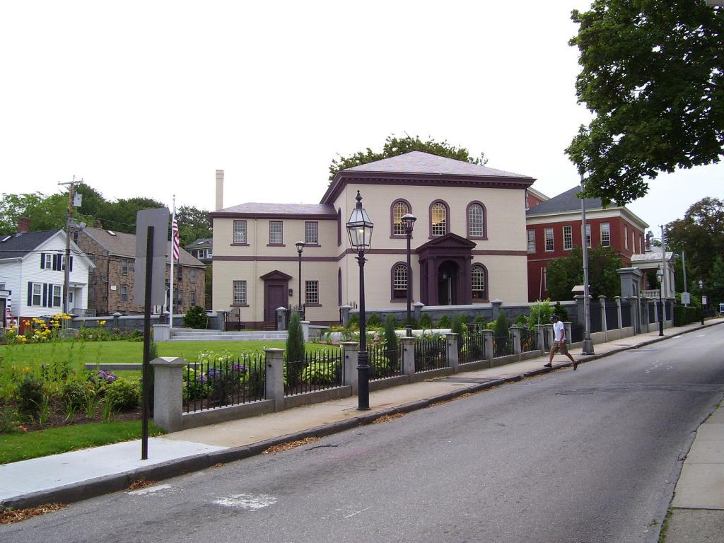 Touro Synagogue in Newport, Rhode Island, 2009. (credit: Swampyank, license: CC BY-SA)