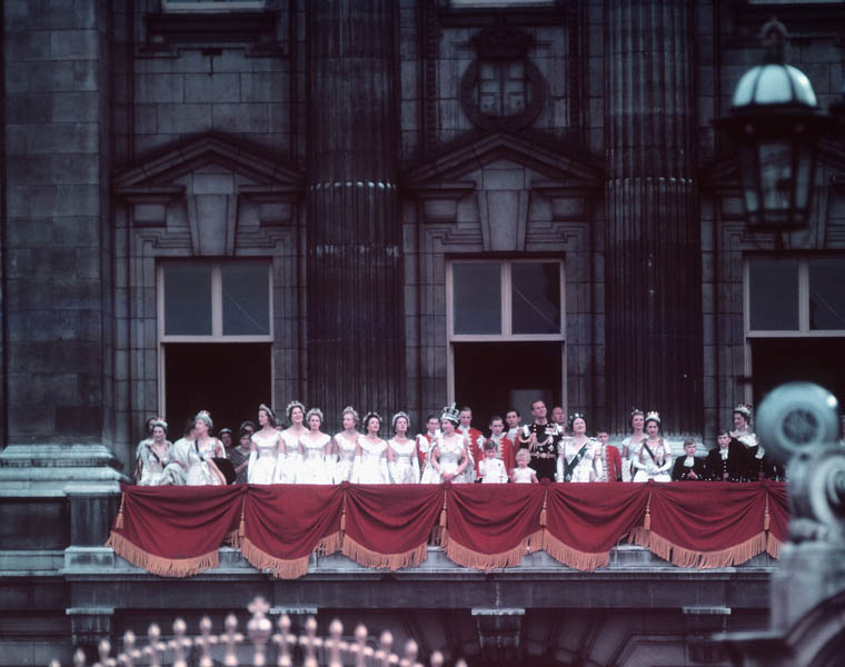 Coronation of Queen Elizabeth II, 2 June 1953 (credit: BiblioArchives / LibraryArchives from Canada, license: CC BY)