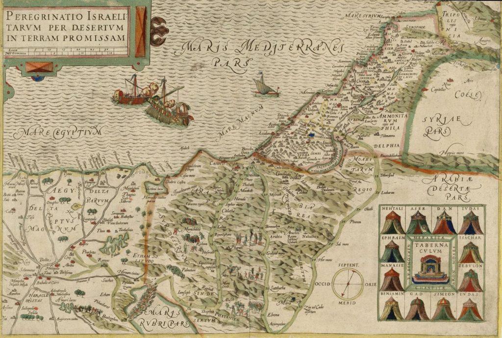 Wanderings in the Midbar (Michel van Lochum 1641)