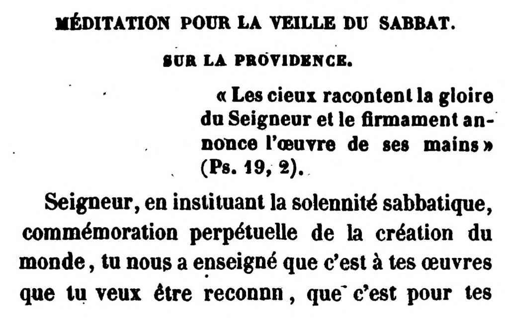 Méditation Pour Le Veille Du Sabbat | Meditation for the Eve of the Sabbath (Friday), by Rabbi Arnaud Aron & Jonas Ennery (1852)