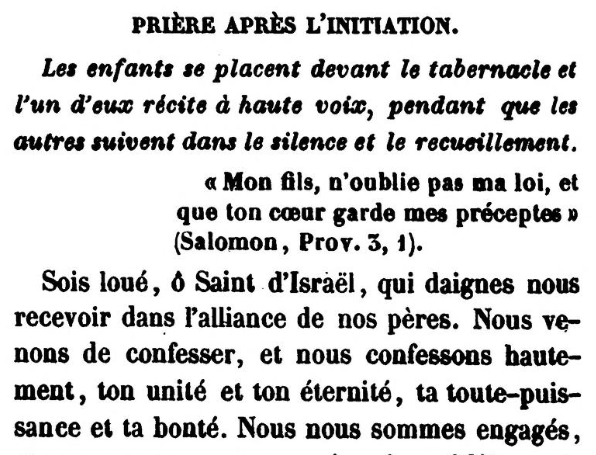 Detail of Prière après l'initiation (Jonas Ennery and Arnaud Aron 1852)