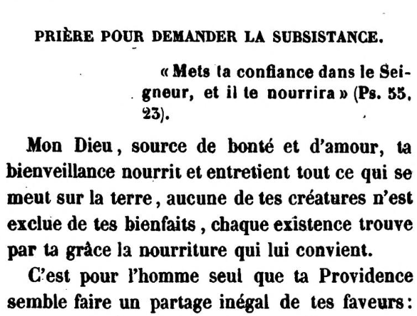 Prière pour demander la subsistance (Jonas Ennery and Arnaud Aron 1852) - cropped