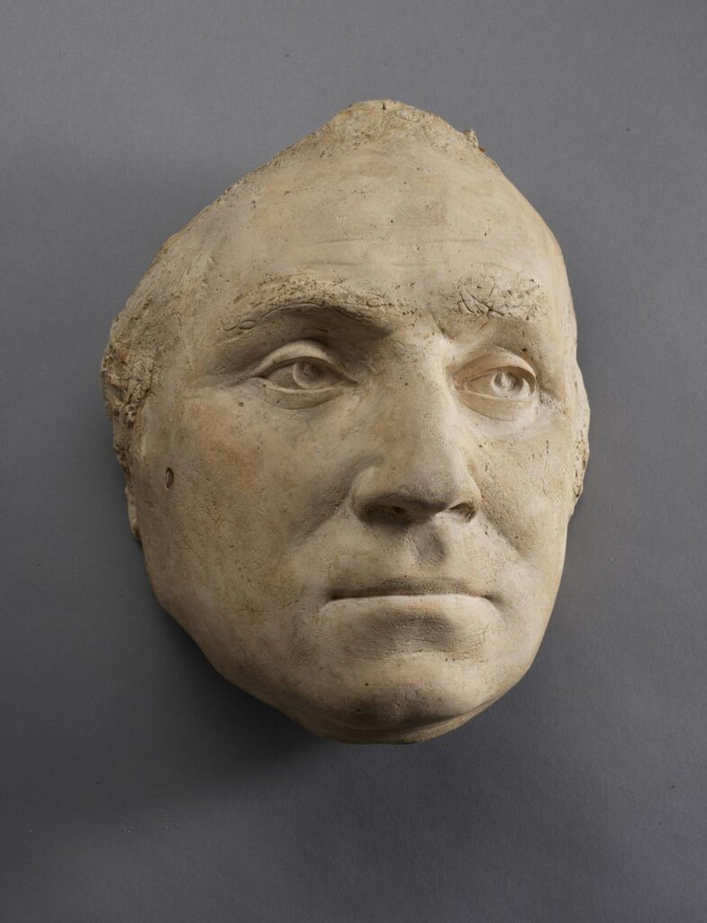 life mask of George Washington (The Frick Collection)
