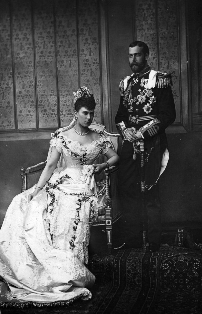 Wedding of George V of the United Kingdom and Princess Mary of Teck in 1893