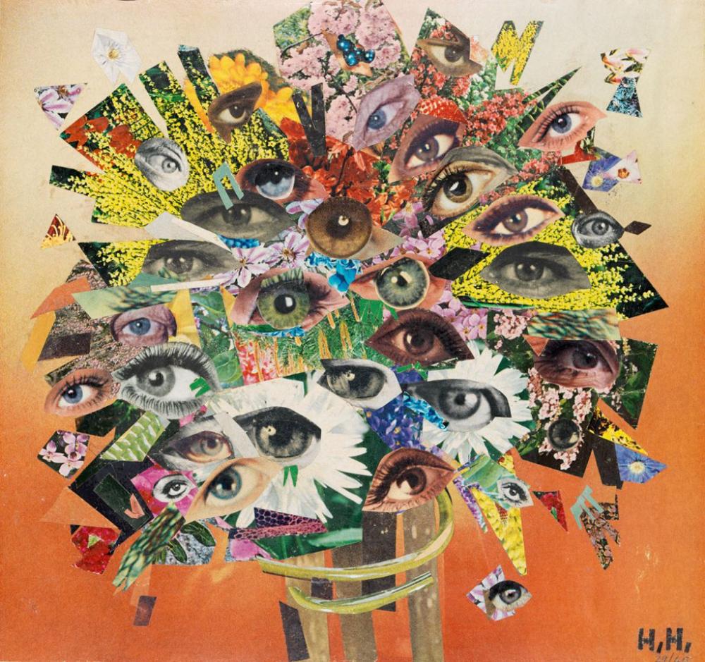 Der Strauß (1929/1965) by Hannah Höch