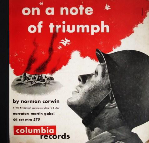 On a Note of Triumph, cover art Columbia Records