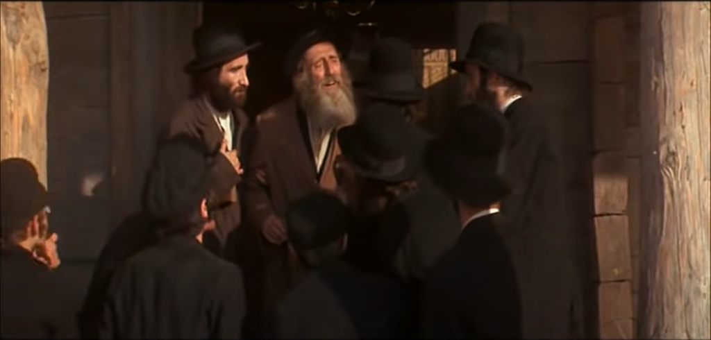 A Blessing for the Kaiser (still from the film adaptation of Fiddler on the Roof, 1971)