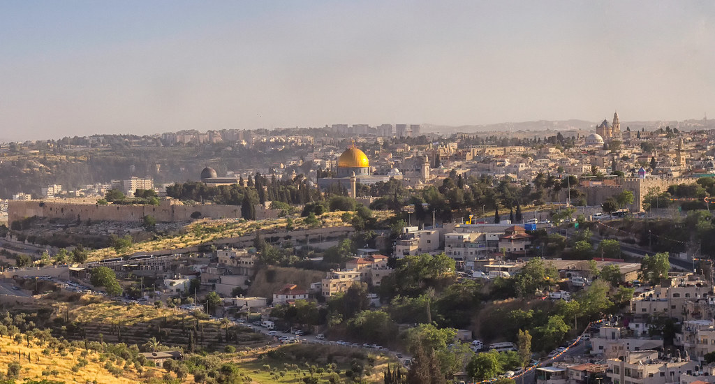 The Old City of Jerusalem (credit: Ray in Manila, license: CC BY)