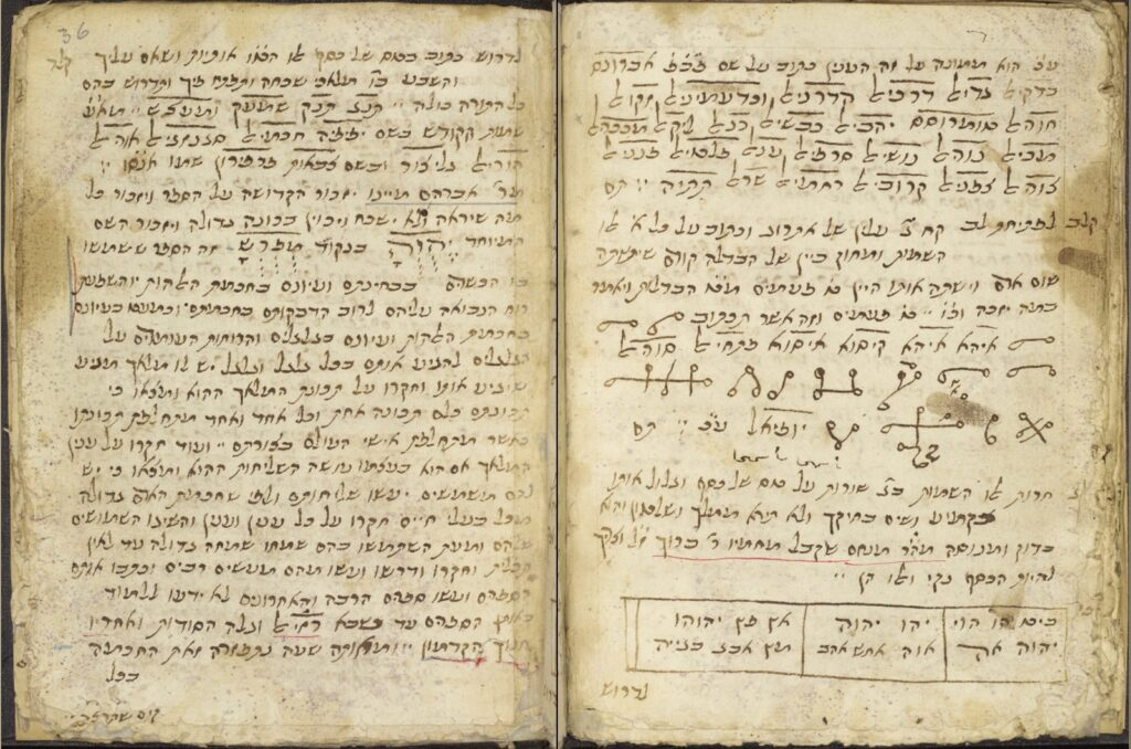 Gaster Hebrew 177 f.36a (University of Manchester)