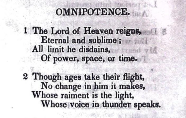 Omnipotence - Penina Moïse Cohen (1842) - cropped